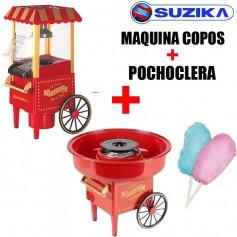 COMBO COPO DE AZUCAR + POCHOCLERA SUZIKA LOCAL