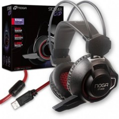 AURICULAR C/ MICROFONO NOGA ST VOID GAMER USB LED 7 COLORES