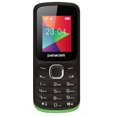 CELULAR PANACOM DUAL SIM LIBRE MP3 CAMARA BASICO BLUETOOTH MP-1104 NEGRO VERDE