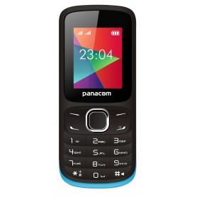 CELULAR PANACOM DUAL SIM LIBRE MP3 CAMARA BASICO BLUETOOTH MP-1104 NEGRO AZUL