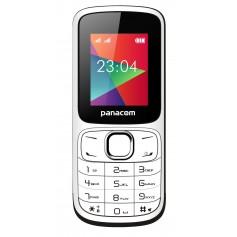 CELULAR PANACOM DUAL SIM LIBRE MP3 CAMARA BASICO BLUETOOTH MP-1104 PLATEADO