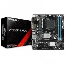 MOTHER ASROCK AM3+ 760GM HDV AMD CPU FX DDR3 VGA HDMI