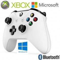 JOYSTICK XBOX MICROSOFT BLANCO WINDOWS 10 BLUETOOTH GAME PAD