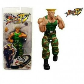 FIGURA STREET FIGHTER 5 KEN RYU GUILE ALTERNATE COSTUME NECA