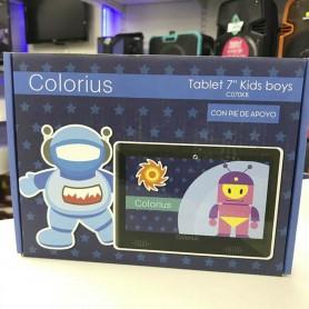 TABLET ASTRONAUTA ANDROID 7.1 1GB RAM 8GB ROM 1.2 GHZ CON PIE DE APOYO COLORIUS