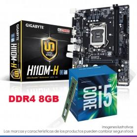 COMBO ACTUALIZACION INTEL CORE I5 7400 3,5GHZ 8GB DDR4 RAM MOTHER H110M HDMI
