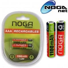 PILAS RECARGABLES NOGANET AAA 1100mah Ni Metal BLISTER X2