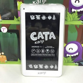 TABLET 7 CATA ANDROID 7.1 MEMORIA 8GB RAM 1GB BLUETOOTH FUNDA REGALO KANJI