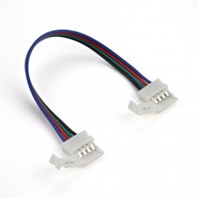 CONECTOR 4 PINES TIRAS LED RGB PARA UNION