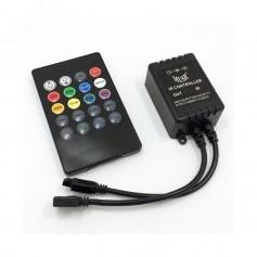 CONTROLADOR RGB AUDIORITMICO PARA TIRAS LED CON CONTROL
