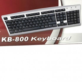 "TECLADO USB MEGA KB-800 ESPA""OL"