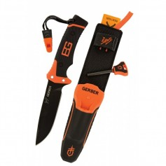 CUCHILLO GERBER CON PEDERNAL ULTIMATE BEAR GRYLLS