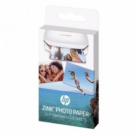 PAPEL FOTOGRAFICO HP ZINK SPROCKET X 20 UNIDADES