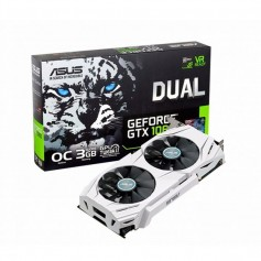 PLACA DE VIDEO ASUS DUAL GEFORCE GTX 1060 3GB DDR5 NVIDIA HDMI DISPLAYPORT DVI