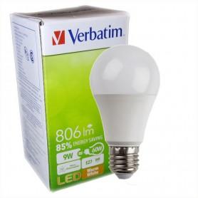 LAMPARA BULBO LED ROSCA E27 VERBATIM 99326 9W CALIDA