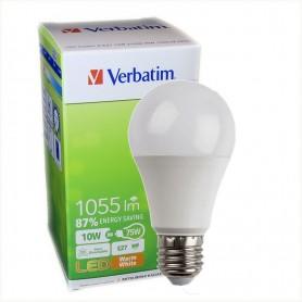 LAMPARA BULBO LED ROSCA E27 VERBATIM 99289 10W CALIDA