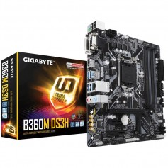 MOTHER GIGABYTE B360M DS3H SOCKET 1151 DDR4 INTEL OCTAVA GENERACION
