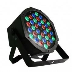 LUZ PAR PROTON RGB DJ ILUMINACION FIESTAS EVENTOS DMX 36 LED ALTA LUMINOSIDAD