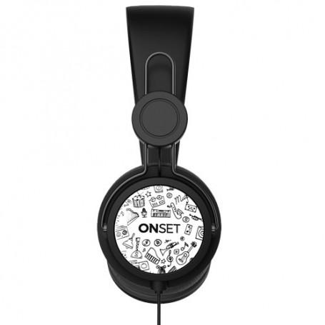 AURICULAR CON CABLE ONSET HC-100 ICON BLACK MANOS IT1013 LIBRES CELULAR PS4
