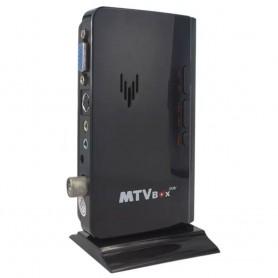 SINTONIZADORA DE TV EXTERNA MTV BOX VGA CONTROL REMOTO