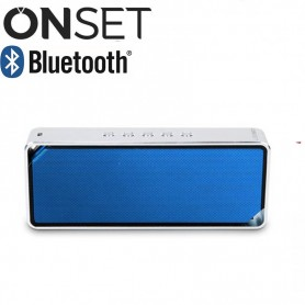 PARLANTE BLUETOOTH ONSET HARMONY 1000MAH 8HS 3W ALUMINIO IT1200 AZUL