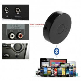 TRANSMISOR EMISOR BLUETOOTH SMART TV EQUIPO DE AUDIO MP3 DVD DOS AURICULARES