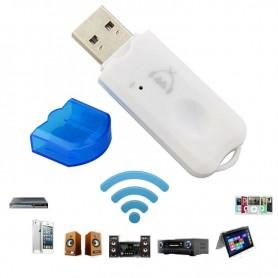 RECEPTOR BLUETOOTH USB PARA AUTO AUDIO CON MICROFONO
