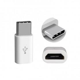 ADAPTADOR MICRO USB A TYPE C MOTOROLA LG SMARTPHONES Y TABLETS