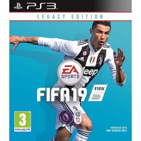 JUEGO PS3 FIFA 2019 SPORT FISICO PLAYSTATION LEGACY EDITION ULTIMO LANZAMIENTO