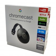 GOOGLE CHROMECAST 2 2017 GENERACION SMART TV USB NETFLIX