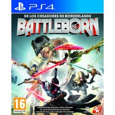 JUEGO PS4 BATTLEBORN PLAYSTATION 4 FISICO