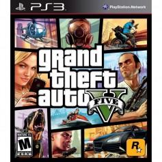JUEGO PS3 GTA V GRAND THEFT AUTO V PLAYSTATION 3 FISICO