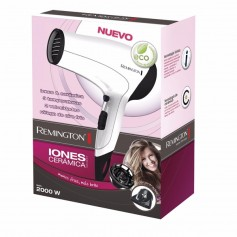 SECADOR PELO REMINGTON D3015 POWER VOLUME CABELLO CERAMICA IONES CON DIFUSOR 2000W