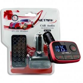 MP3 PARA AUTO 12V NETMAK NM-AD956R CON CONTROL
