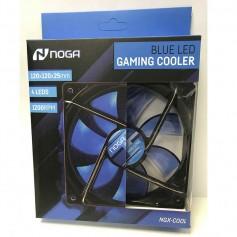 COOLER GAMER 120MM NOGA SILENT PARA PC 4 LEDS AZUL